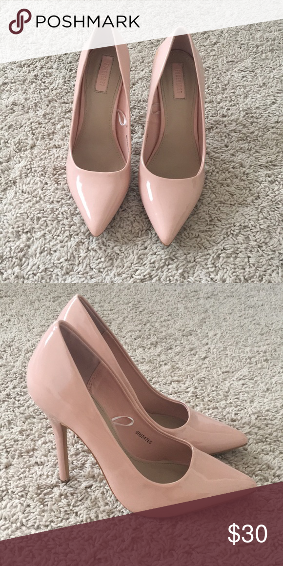 Baby Pink Pumps: Forever 21 Baby pink