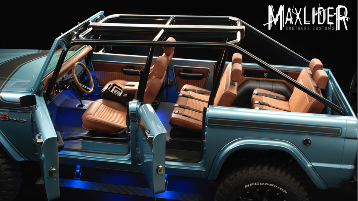 Maxlider Bros Bringing Big Bad Bronco To Sema Classic Trucks Ford Bronco Bronco