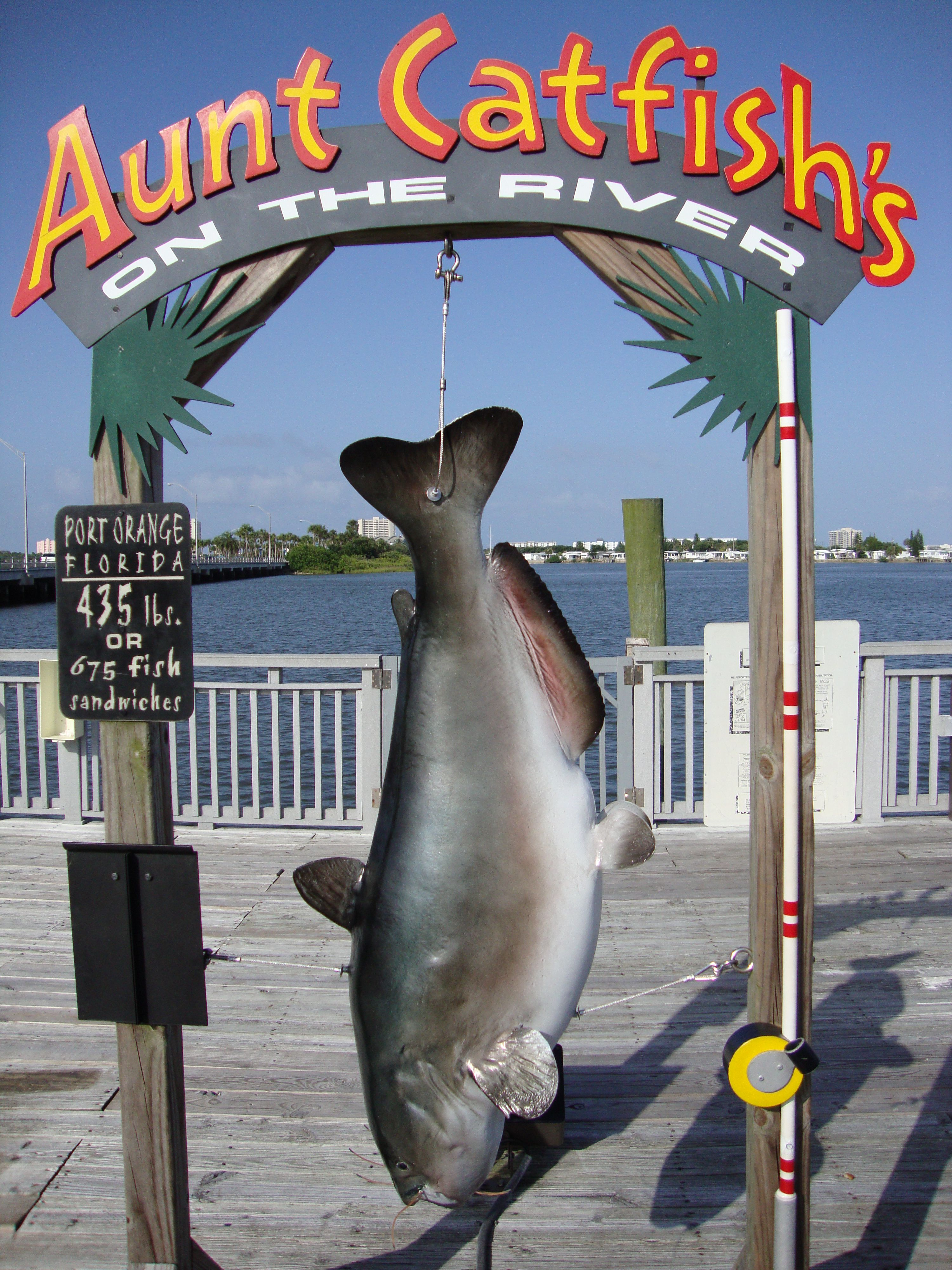 Aunt Catfish S Restaurant On The River Daytona Fl Port Oranage Bridge Most Awesome Food Oh How I Wish Was There