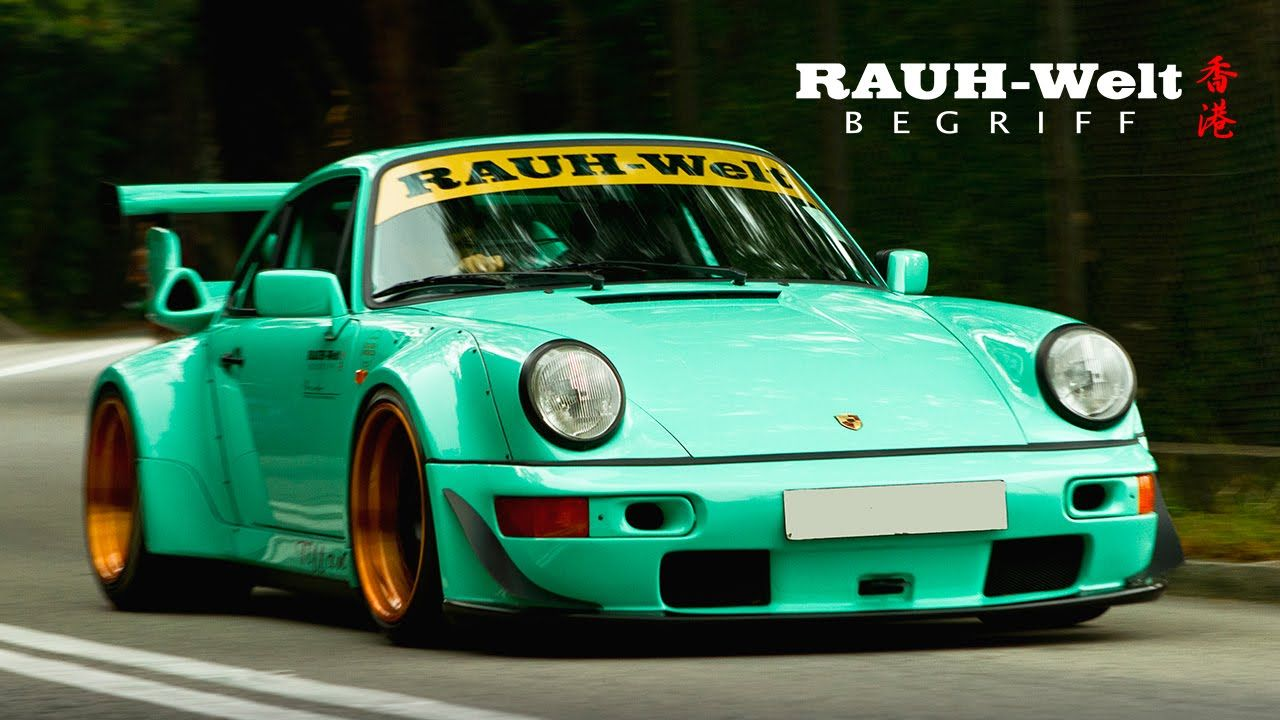 Rwb Hong Kong 1 Rauh Welt Begriff Tiffany Porsche 911 Porsche Porsche 964