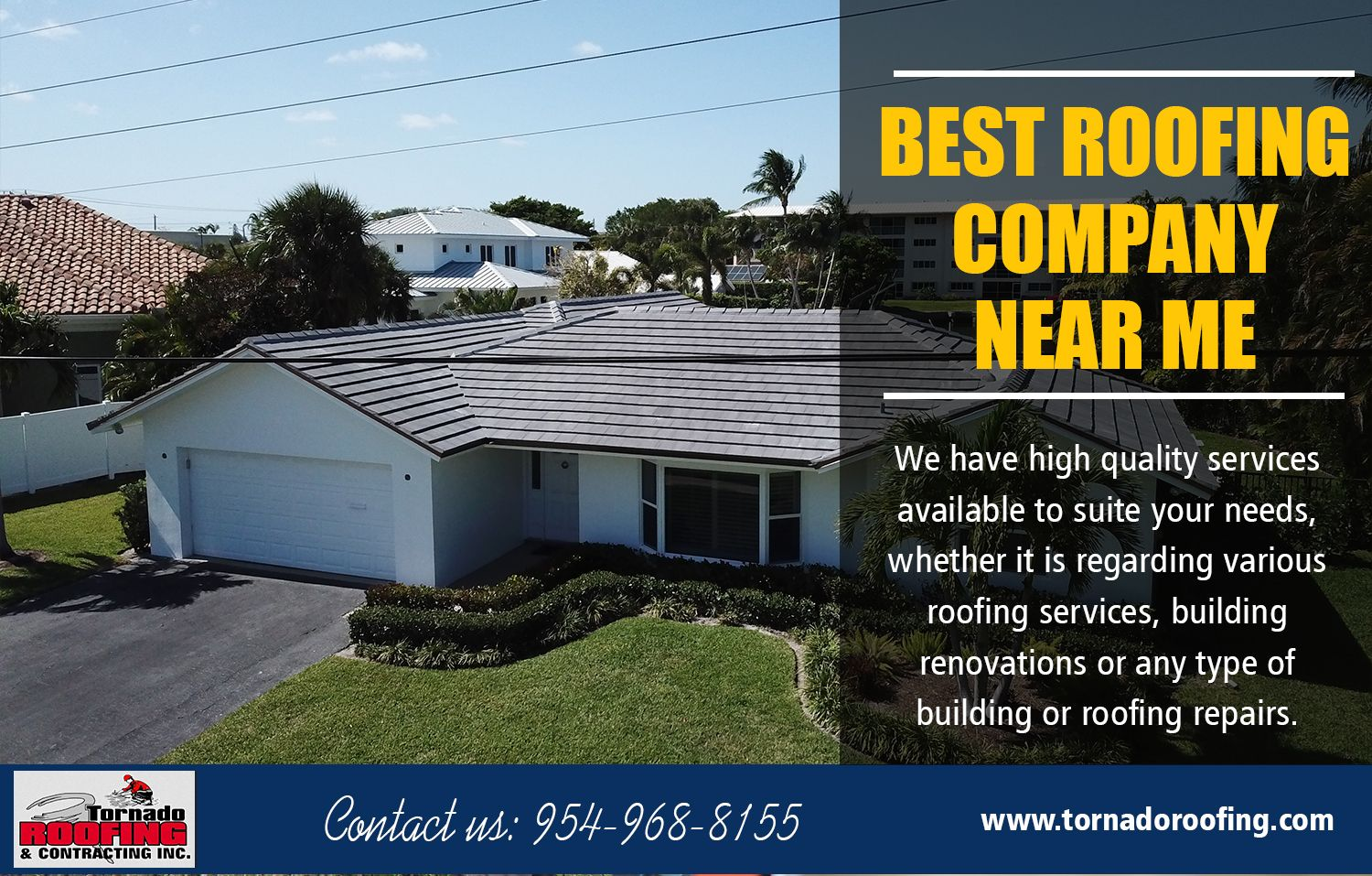 Best Roofing Company Near Me Best Roofing Company Cool Roof Flat Roof Systems