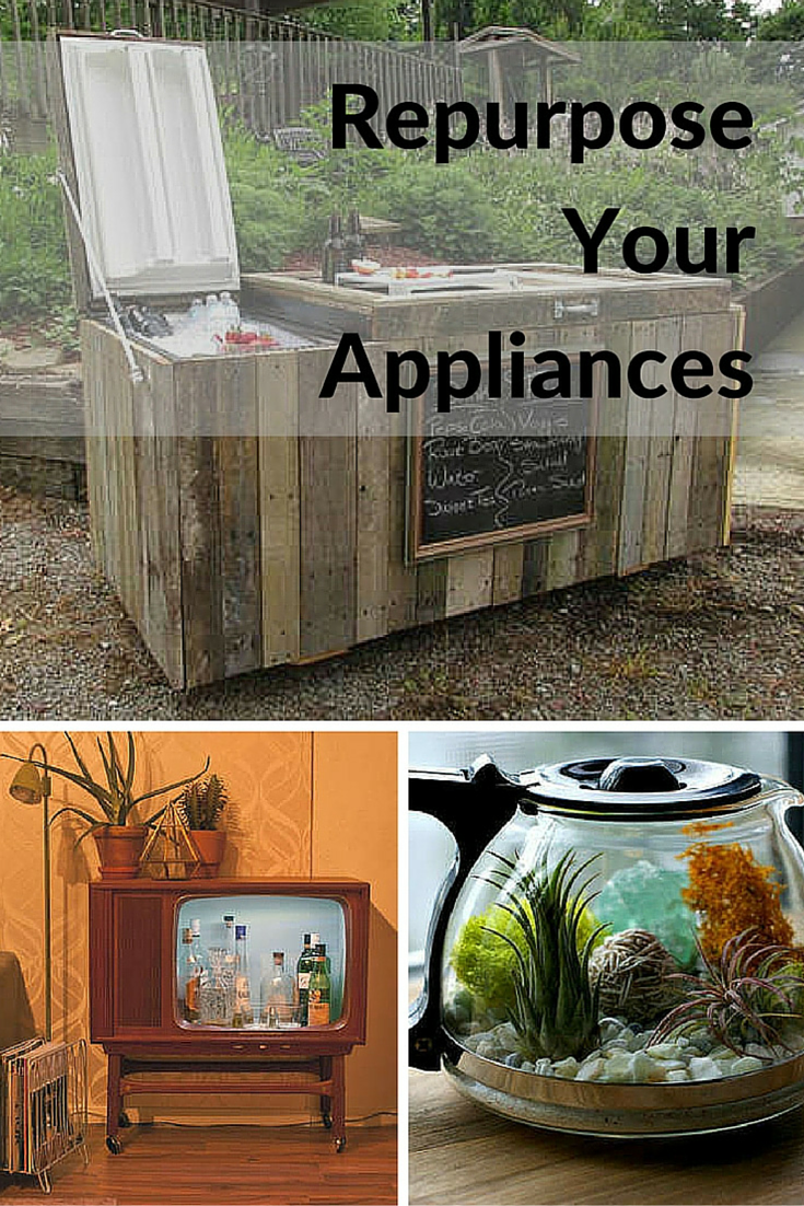 10 Weirdly Awesome New Uses For Old Appliances Recycled Projects Diy Repair Ways To Recycle