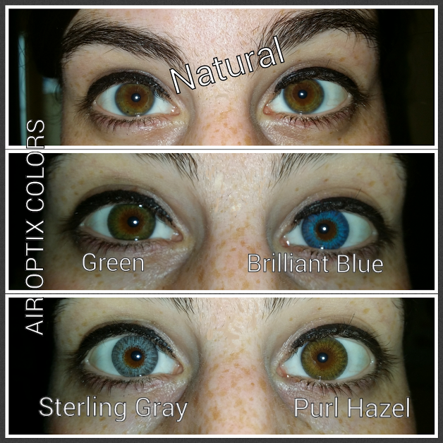 Air Optix Colors on Naturally Brown Eyes. Order 918893