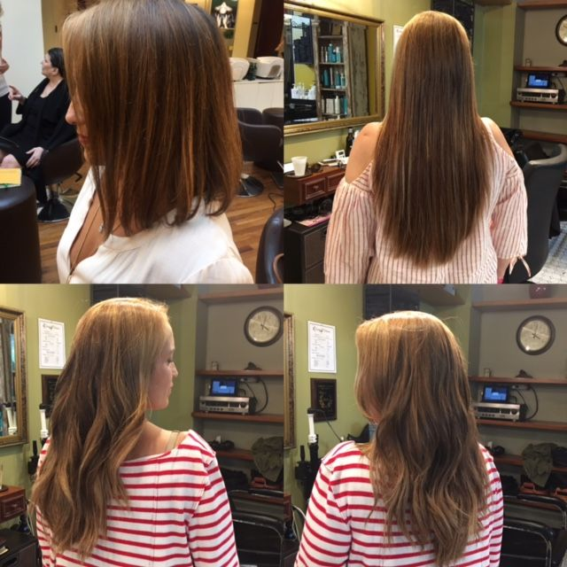 Tape In Hair Extensions From Custom Hair By Catherine In New York