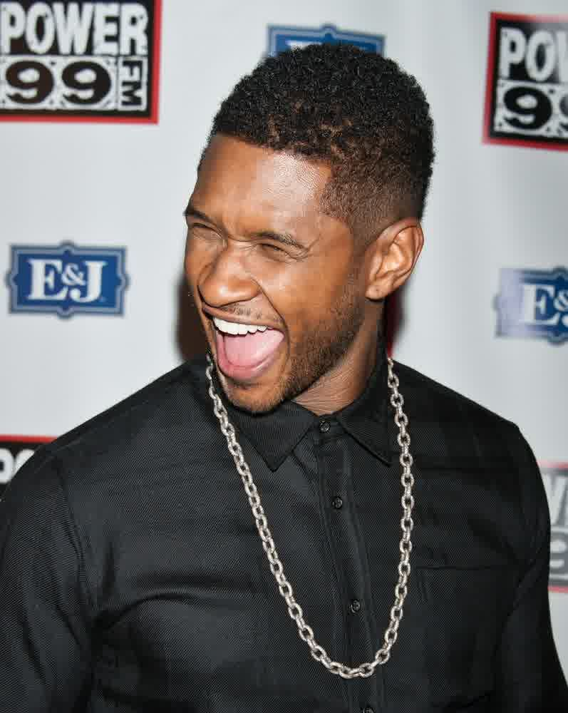 Short Hairstyles For Men 2015 Best Curly Hairstyles Usher Knows How To Wear It Contemporary