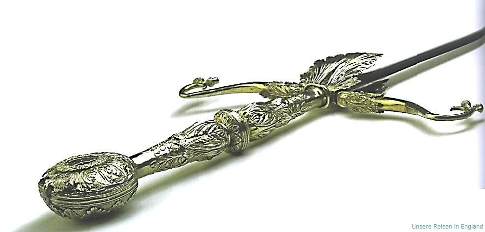 sword of state presented to james iv by pope