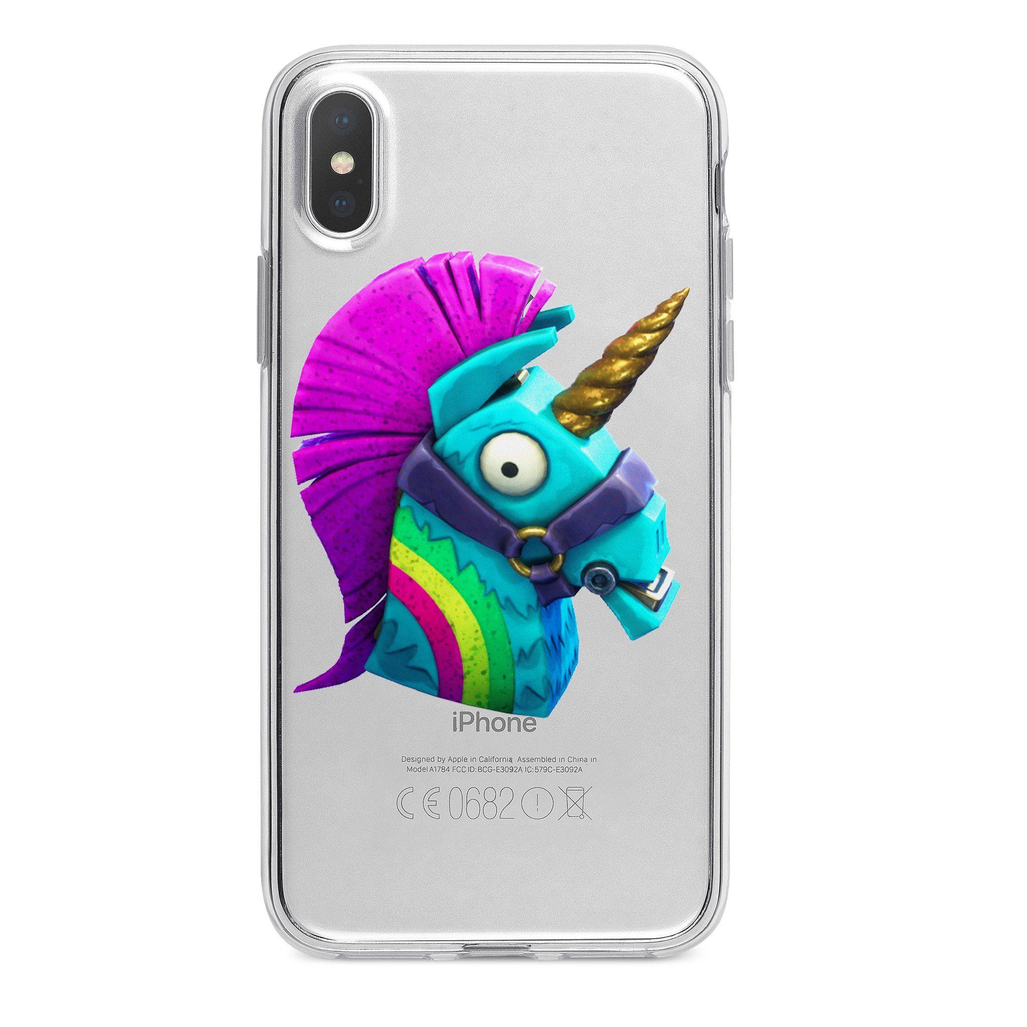 Fortnite Rainbow Unicorn Custom Iphone Case Fortnite Custom