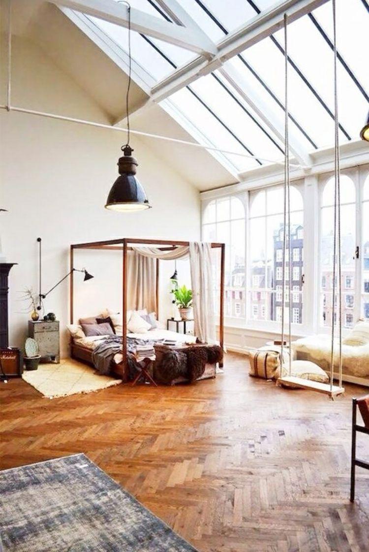 Feng Shui Schlafzimmer Himmelbett Natürliches Licht