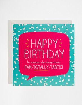 Happy Jackson Fan-Totally-Tastic Birthday Card