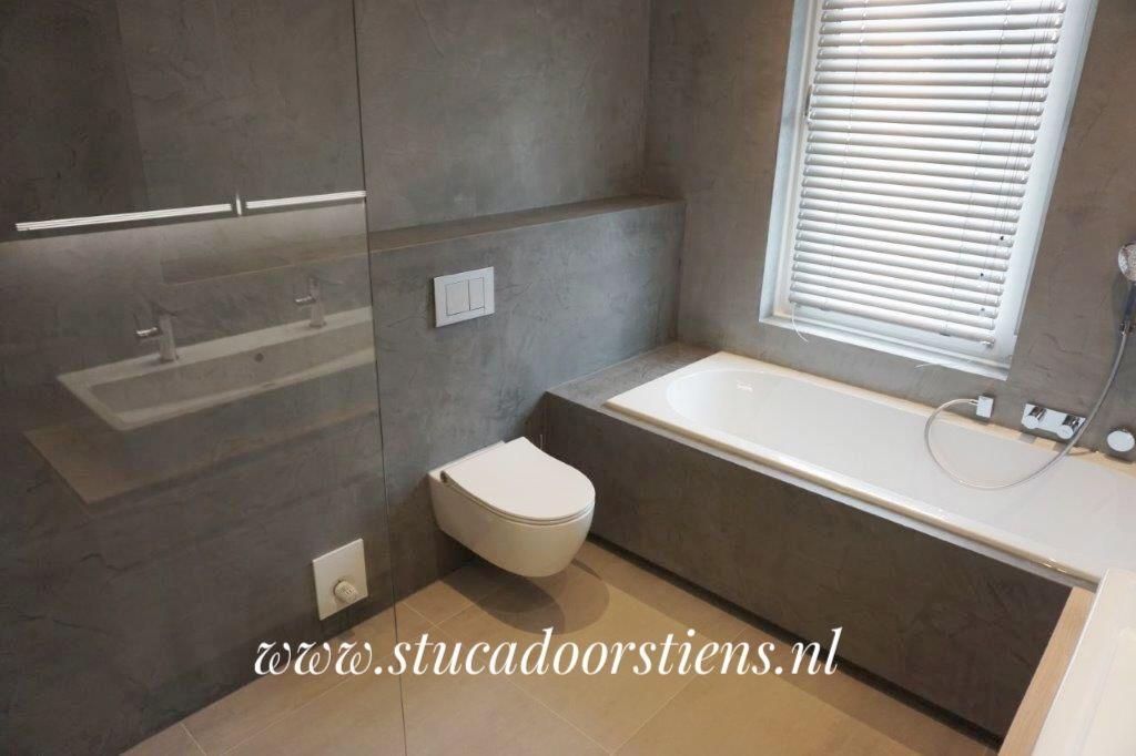 betoncire beal mortex betonlook #badkamer | Betoncire waterdicht ...