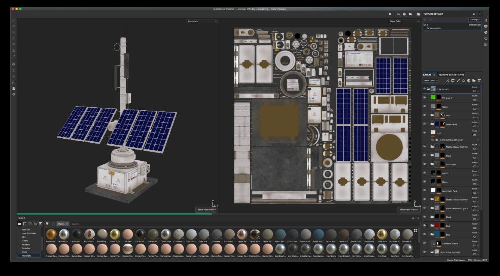 Solar Panel Model 8k Textures 3d Model Solar Panels Solar 3d Model