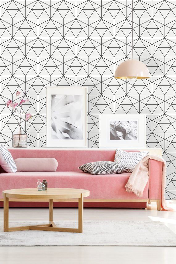 Removable Wallpaper Peel And Stick Self Adhesive