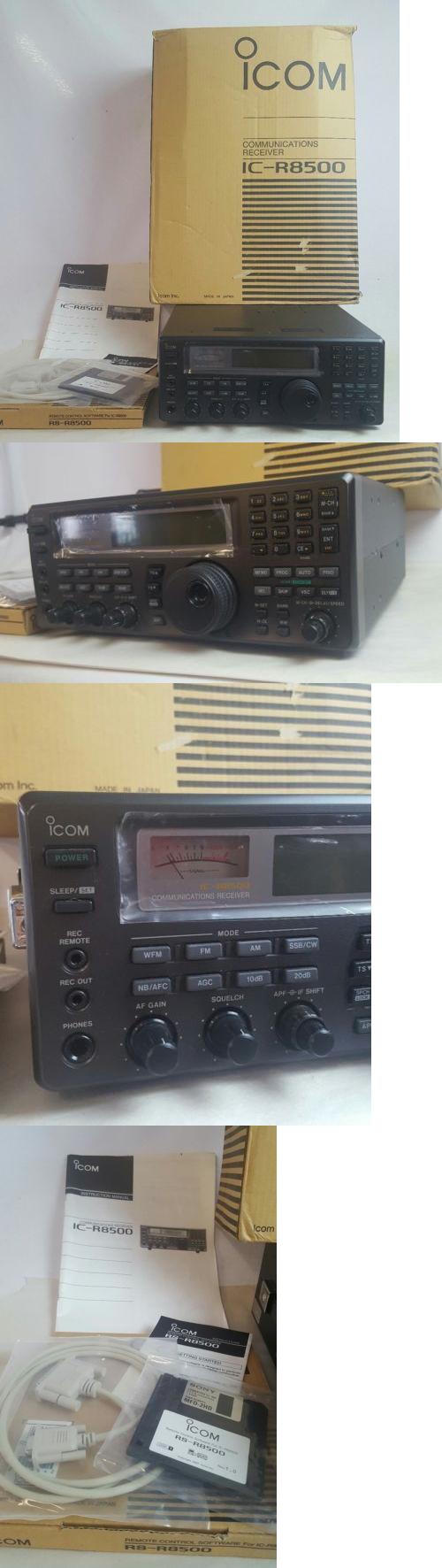 Ham Radio Receivers: Icom Ic-R8500 Shortwave Am Fm Ssb Receiver 100Khz - 1999.99 Mhz New!!! -> BUY IT NOW ONLY: $1500 on eBay!