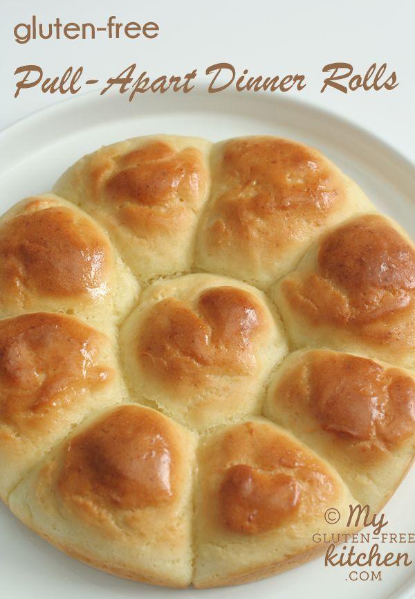 Gluten Free Pull Apart Dinner Rolls Recipe Gluten Free Recipes Bread Gluten Free Baking Gluten Free Thanksgiving