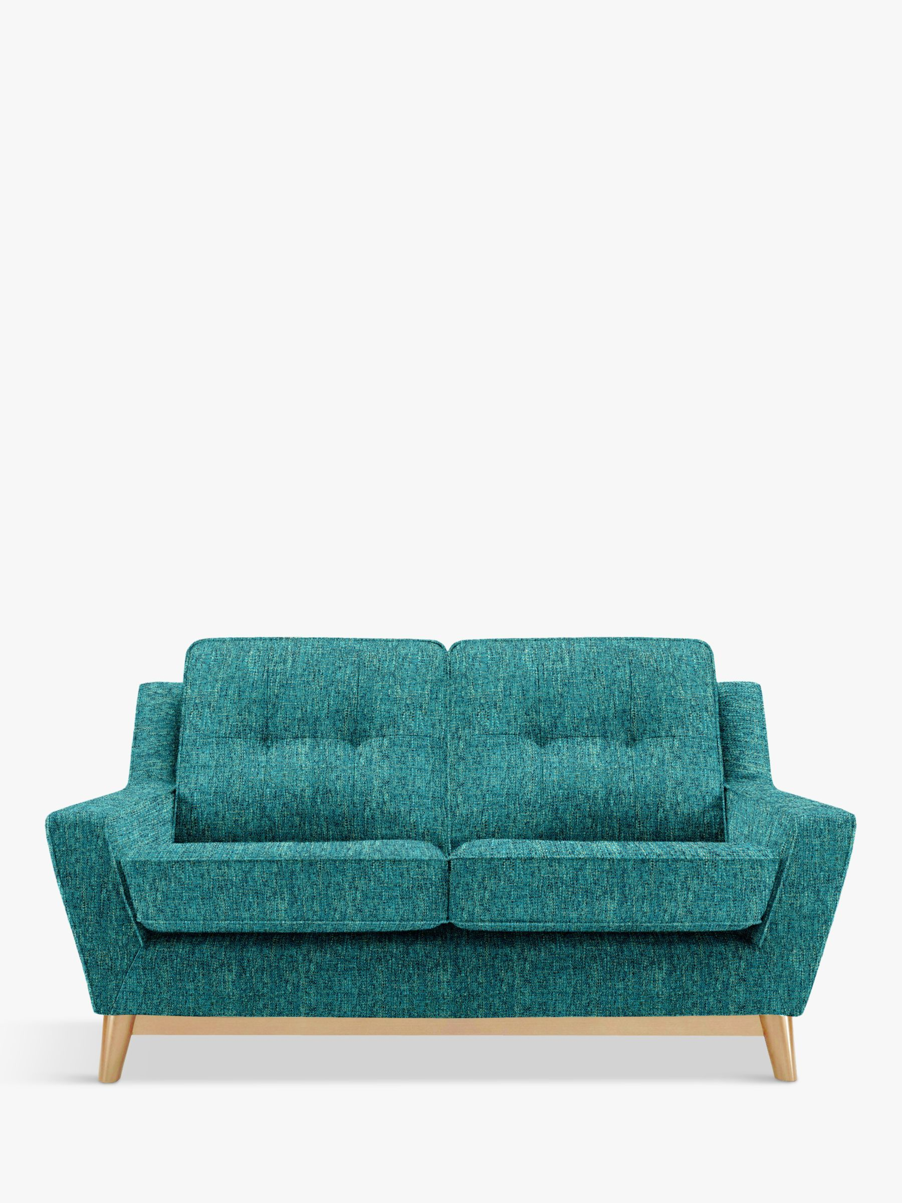 G Plan Vintage The Fifty Three Small 2 Seater Sofa Piero Teal 2 Seater Sofa Sofa G Plan Sofa