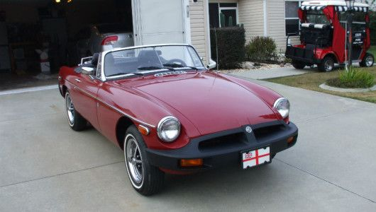 Classic MGB Convertible for Sale  Villages, Florida | Cool Car