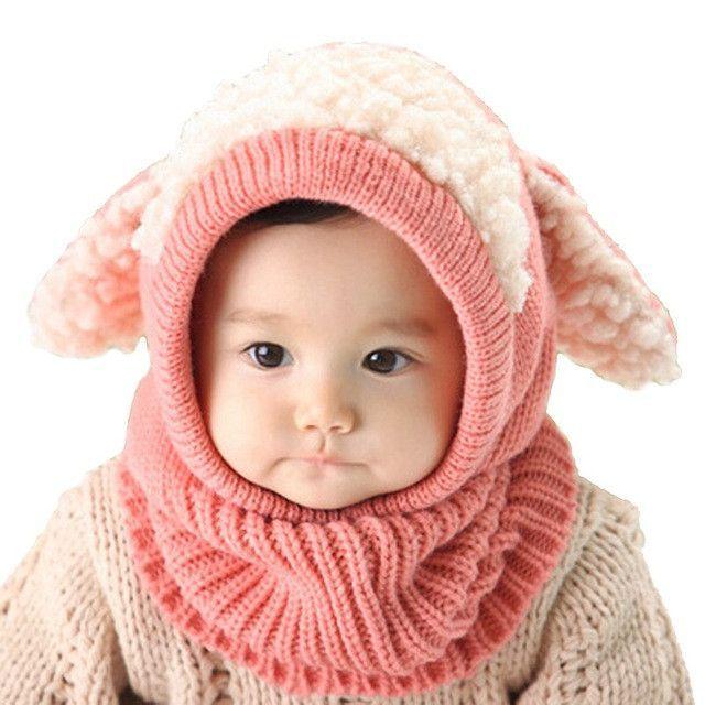 39f83bb7cd1a LASPERAL Brands Beanie Baby Girl Boys Autumn Winter Warm Knitted Cap ...