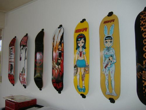 Pin By Off The Grid On Room Vibes Skateboard Rack