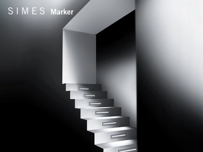 LED Wand- Treppen- Einbauleuchte MARKER Kollektion Marker by SIMES