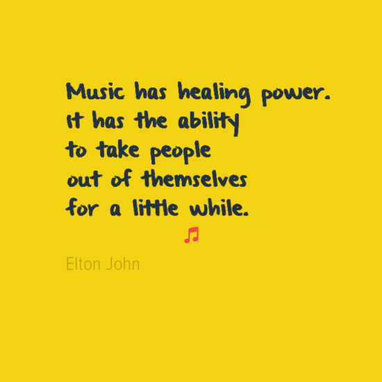 Powerful Healing Quotes Healing Power Of Music Quotes Quotesgram