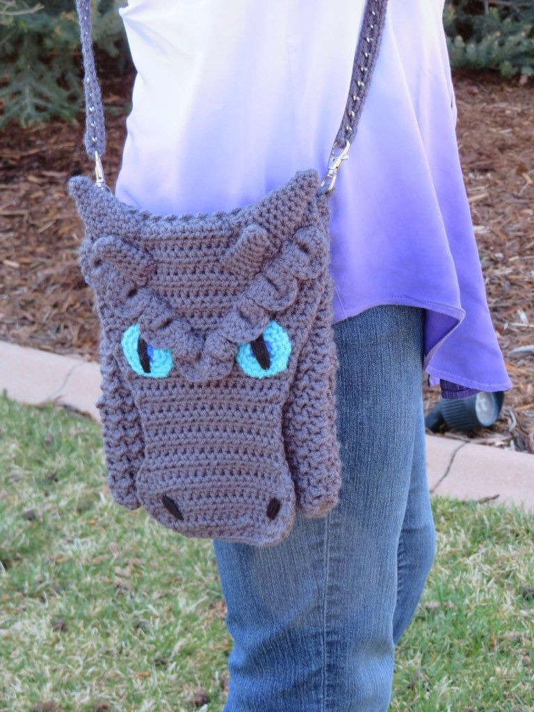 Free Frost Dragon Mods For Dragon Cross Body Bag Pattern Hooked By
