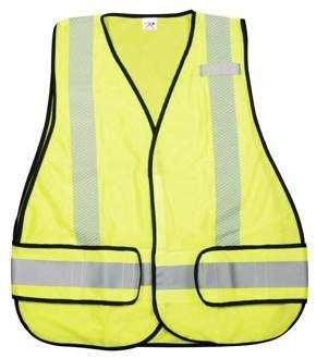 Rothco Hi-Visiblilty Green Poly Mesh Safety Vest  2461f4f44dc