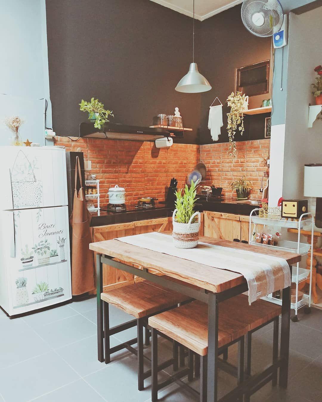 Sekat Dapur Dan Ruang Makan