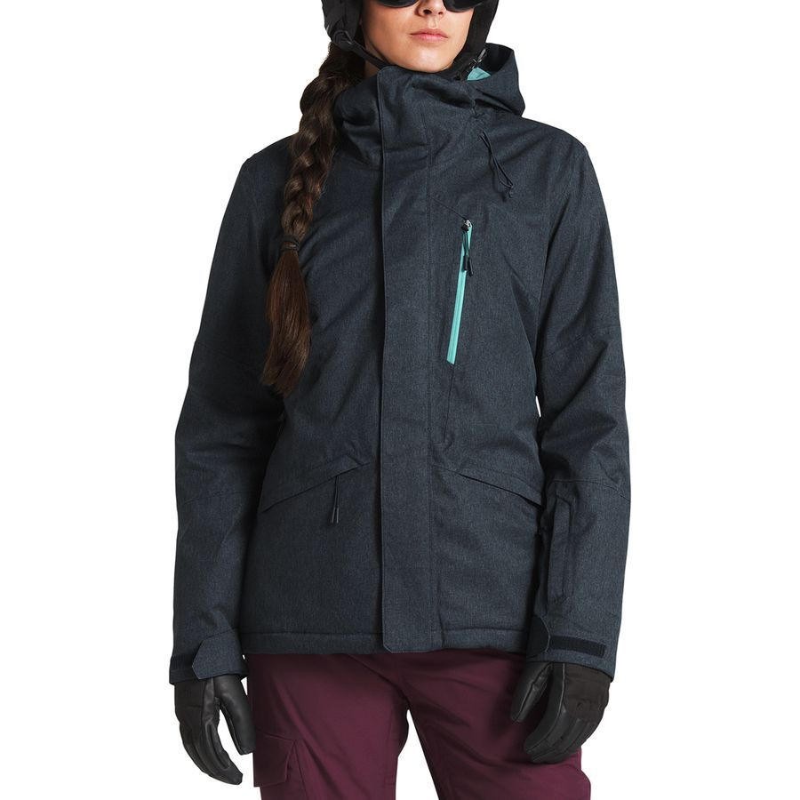 The North Face Thermoball Snow Triclimate Hooded 3 In 1 Jacket Women S Urban Navy Heather Ski Women Jackets For Women Ski Jacket [ 900 x 900 Pixel ]
