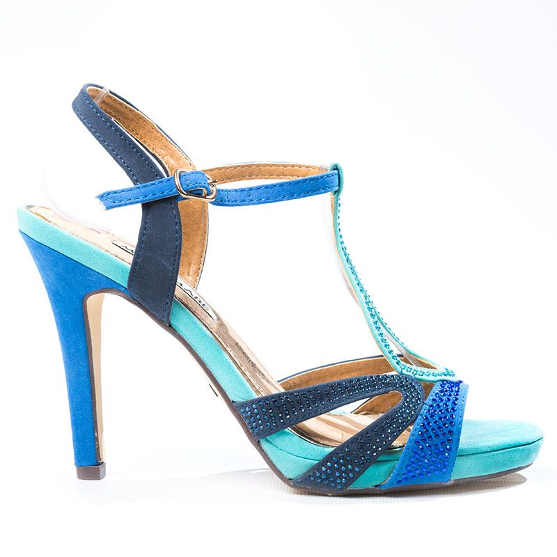 6dca3a84f3b Sandalia+combinada+en+azul+marino