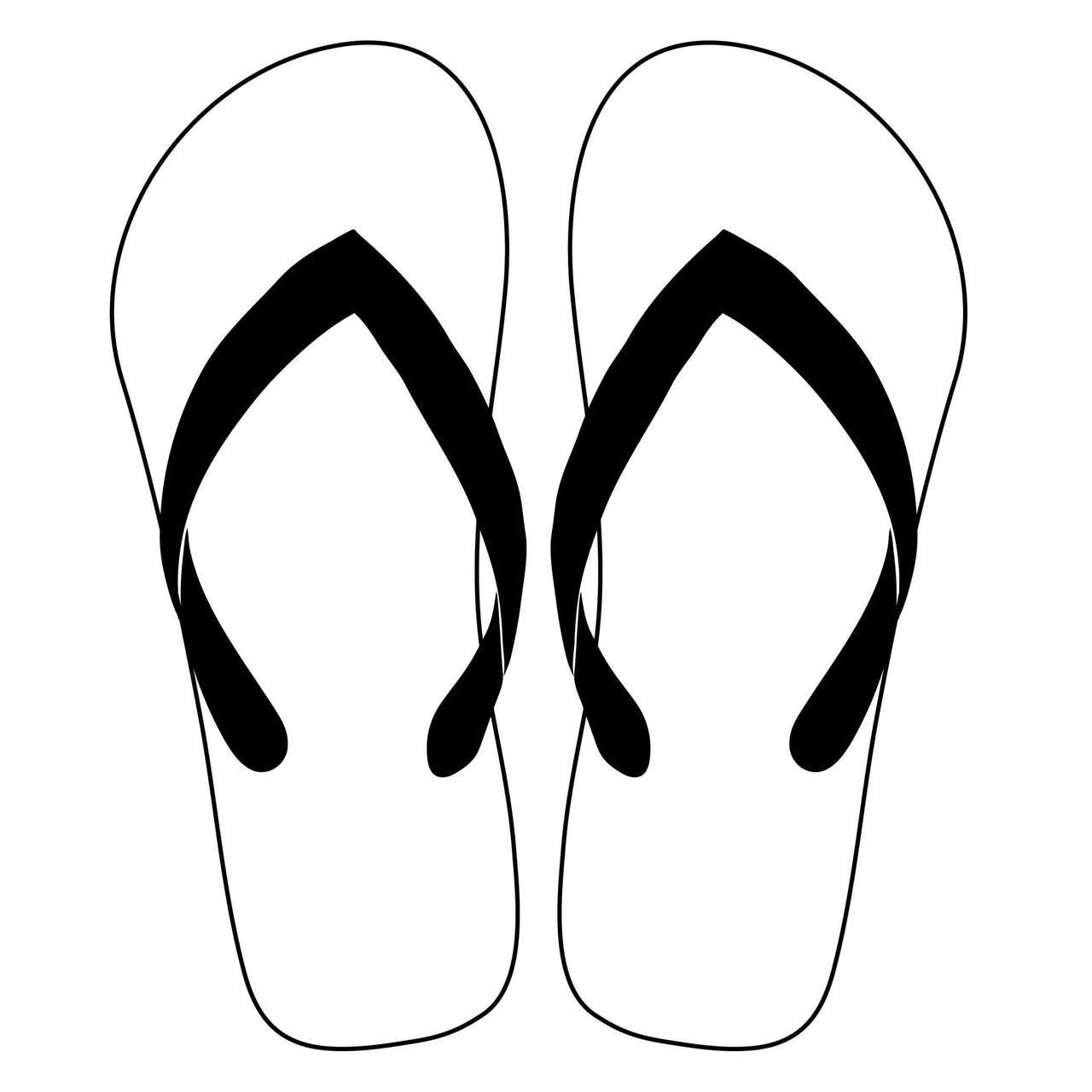 7f2906682 Free Flip Flops SVG Cut File