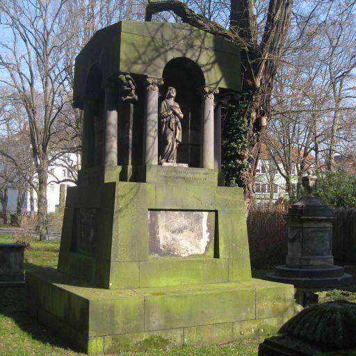 HANNOVER SÜDSTADT Bilder vom Gartenfriedhof Friedhöfe