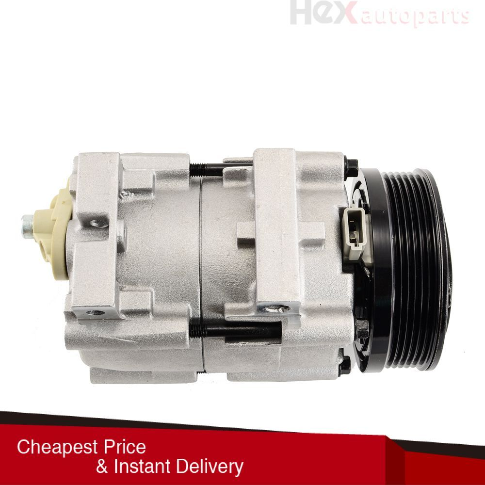 Hex Autoparts A C Compressor W Clutch 58168 For 01 07 Ford
