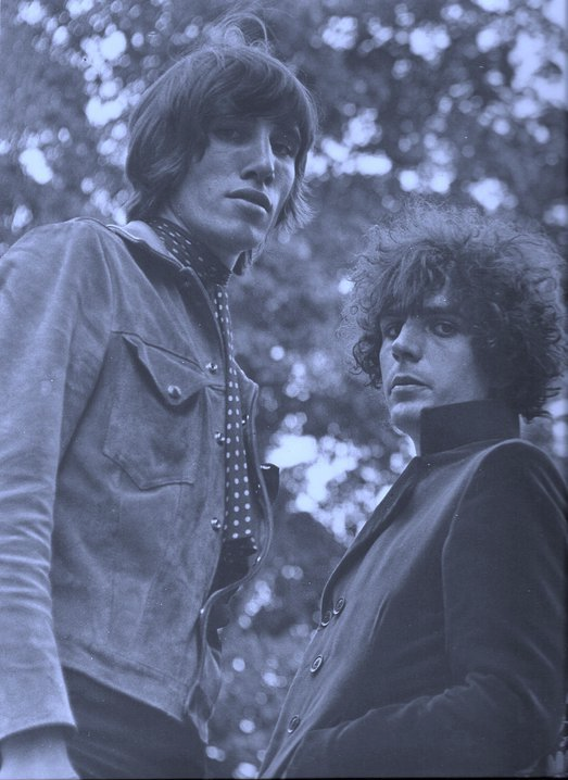 Roger Waters and Syd Barrett, 1967