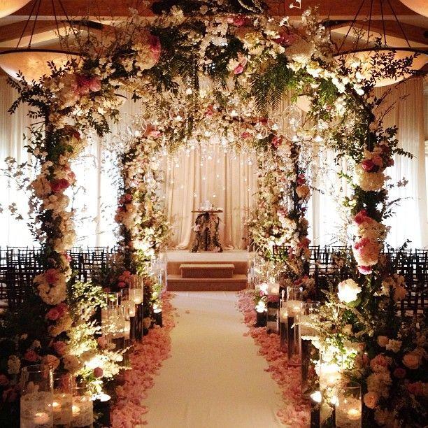 Indoor Wedding Ceremony Brampton: Photo By Detailsjeannie.. Aisle