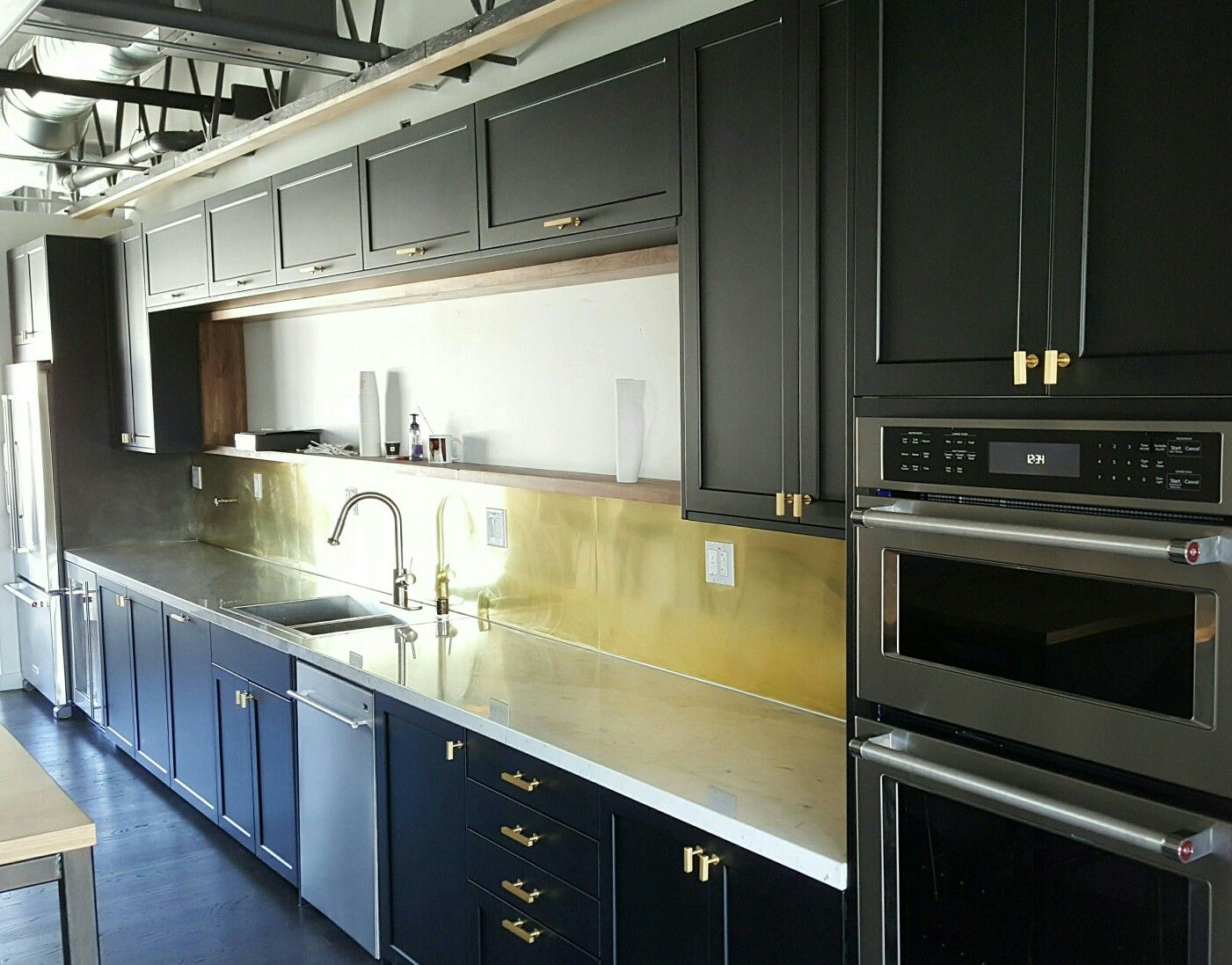 Custom Doors For Ikea Kitchen Cabinets Semihandmade Supermatte Black Doors For Ikea Kitchen