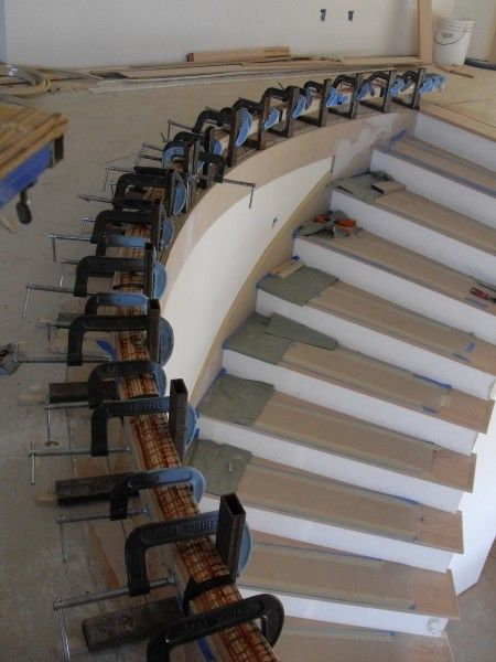 Best Image Result For Curved Handrail Wood Handrail 400 x 300