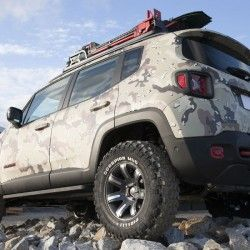 Jeep Renegade Off Road Concept Jeep Renegade 2015 Jeep Renegade