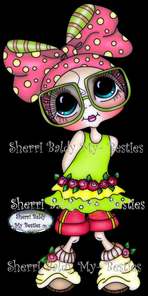 My Besties Shop Big Eyed Besties Coloring Sherri Baldy