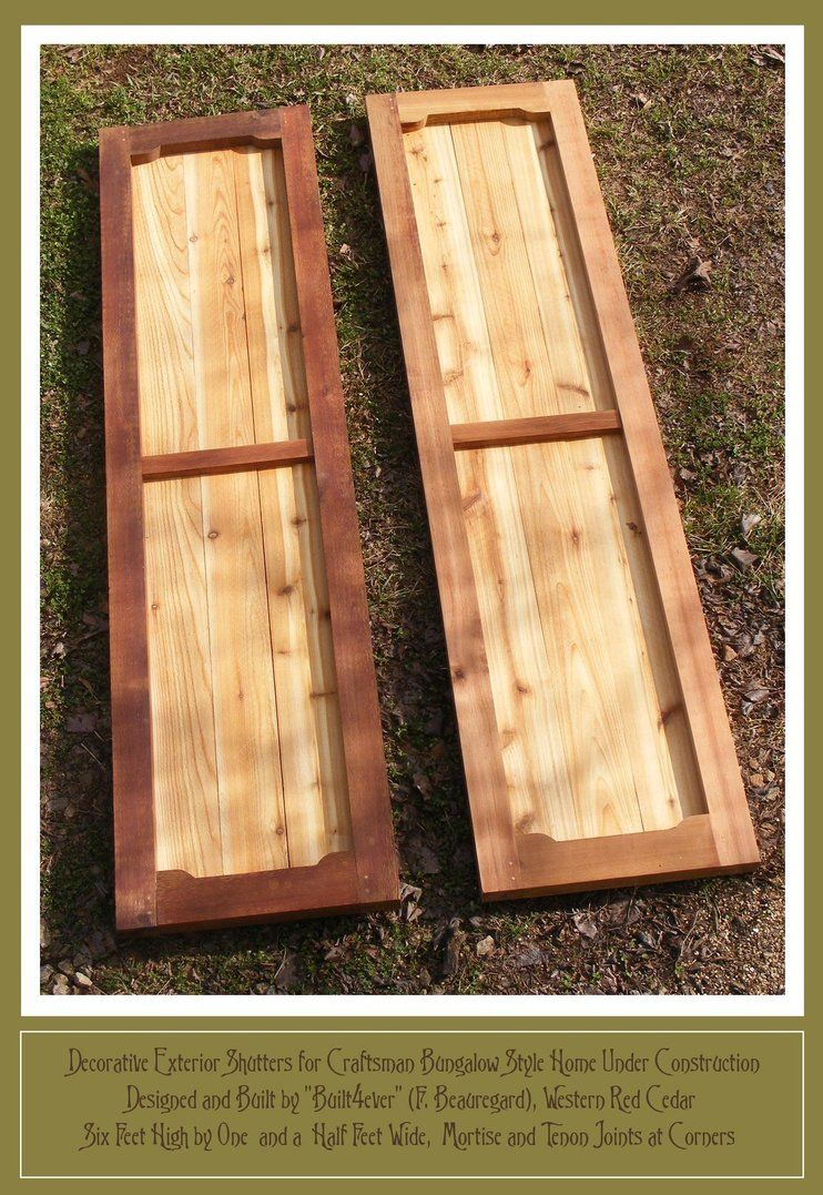 Exterior Shutters For Craftsman Bungalow By Built4ever Shutters Exterior Craftsman Bungalows Window Shutters Exterior