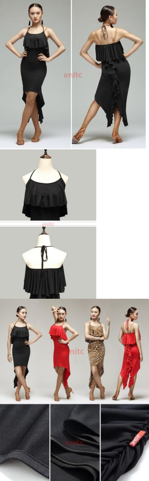 Ballroom 152361: New Latin Braces Skirt Slim Dance Dress Cha Cha Samba Rumba Ballroom Dancing -> BUY IT NOW ONLY: $31.68 on eBay!