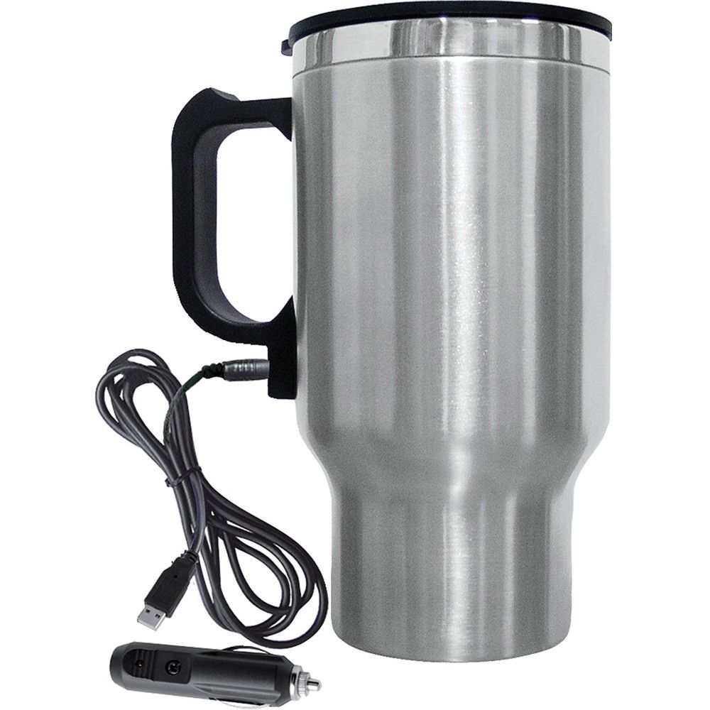 7.19 Brentwood Electric Coffee Mug With Wire Car Plug