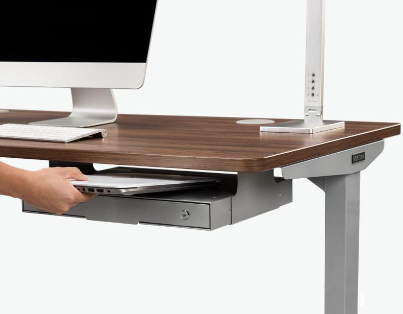 Slim Under Desk Storage Drawer By Uplift Desk Desk Storage Under Desk Storage Desk