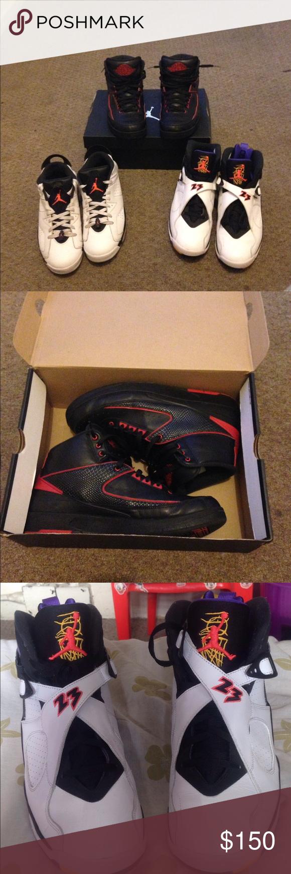 8,6,2 retro's Offer up Jordan Shoes Sneakers