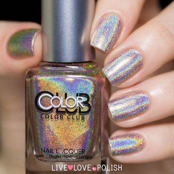 Color Club Cherubic (Holographic), Free Shipping at Nail Polish Canada