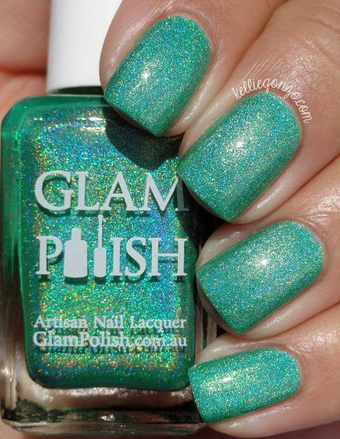 Glam Polish Attitude Is Everything // @kelliegonzoblog   my nails ...
