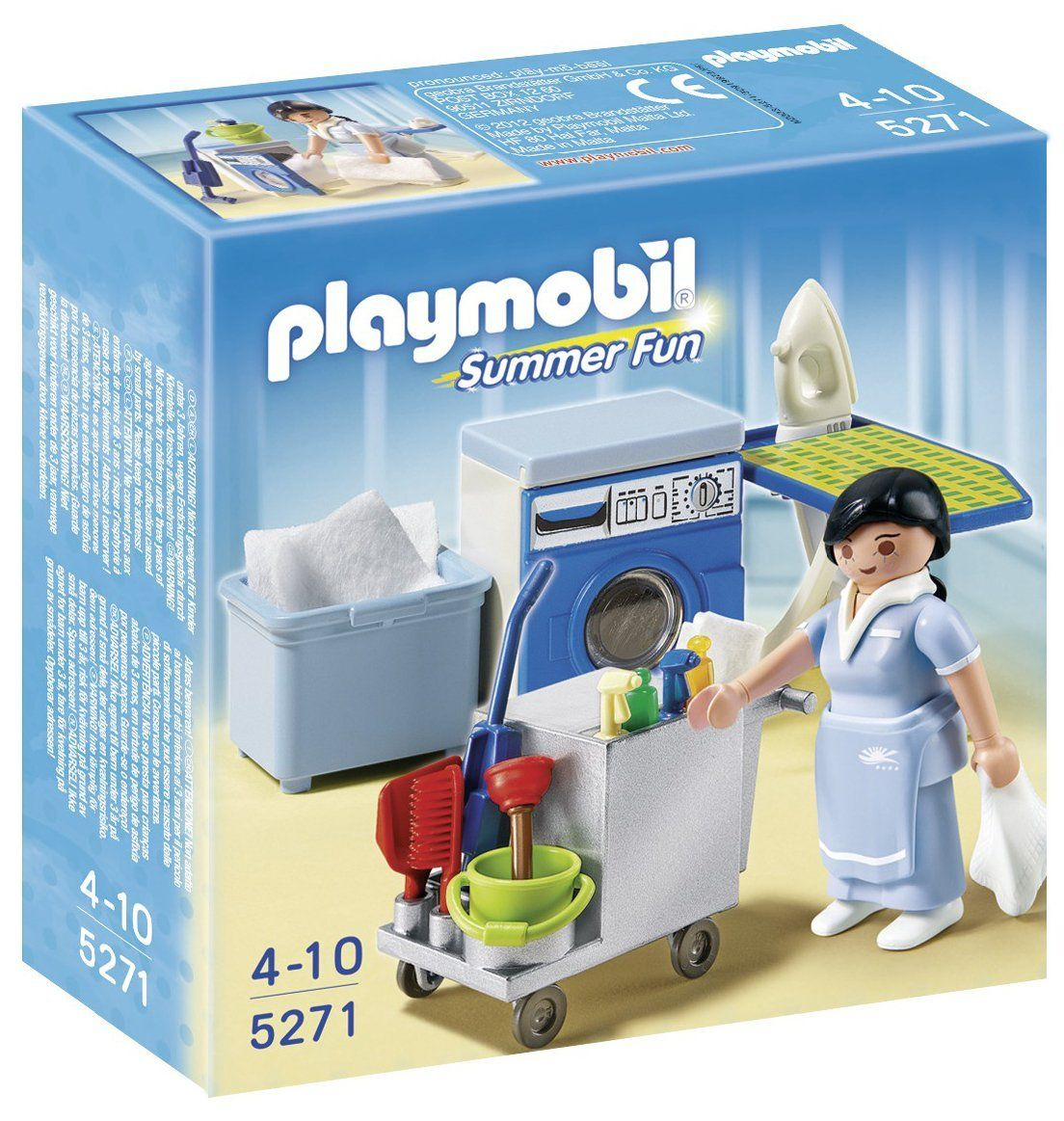 playmobil housekeeping service toys games. Black Bedroom Furniture Sets. Home Design Ideas