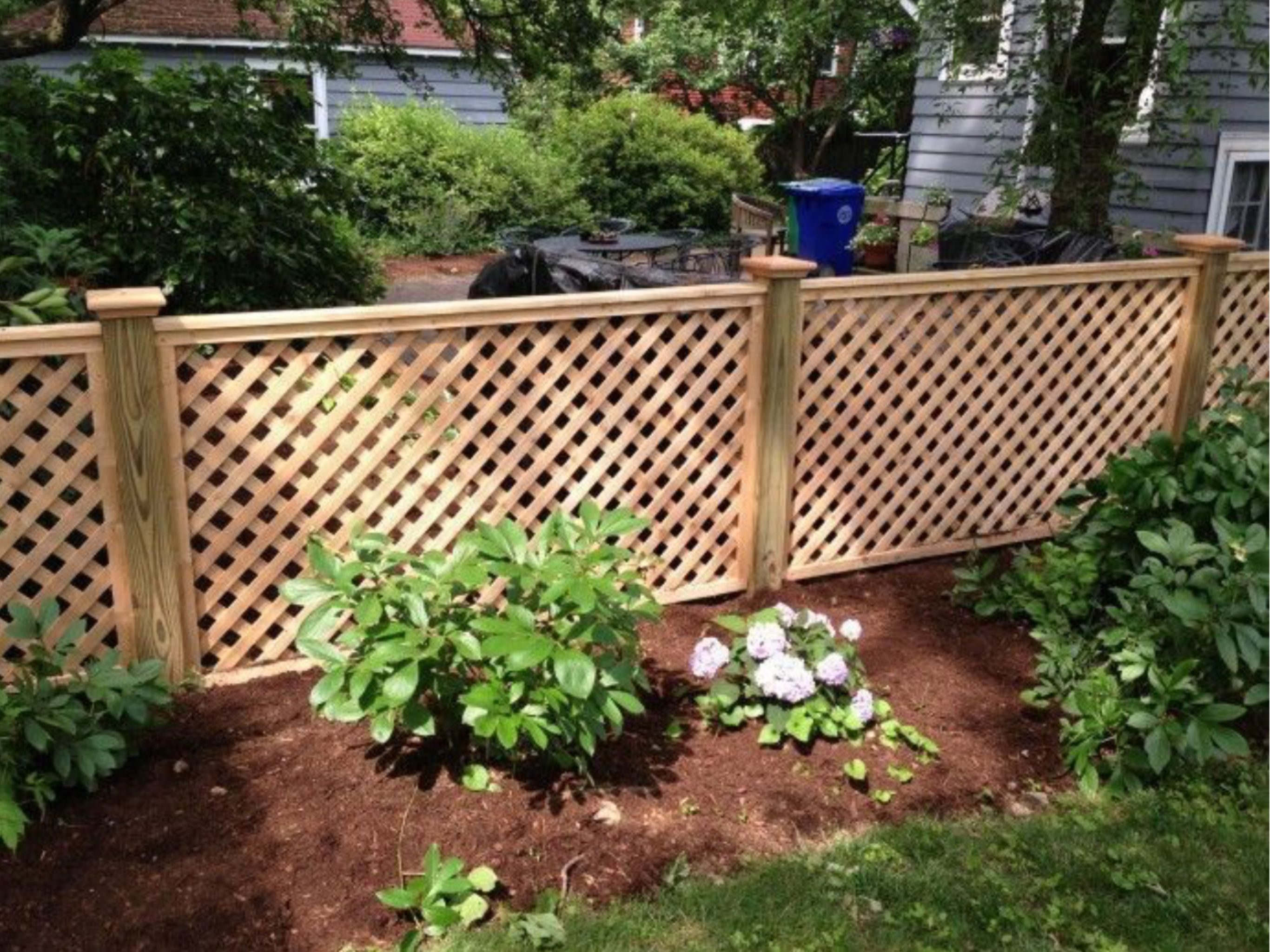 Yard And Garden Fence Privacy Fence Designs Backyard Fences