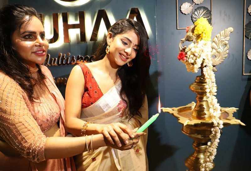 Cook With Comali Pavithra Lakshmi Inaugurate Suhaa Multispeciality Cosmetic Clinic @ Anna Nagar