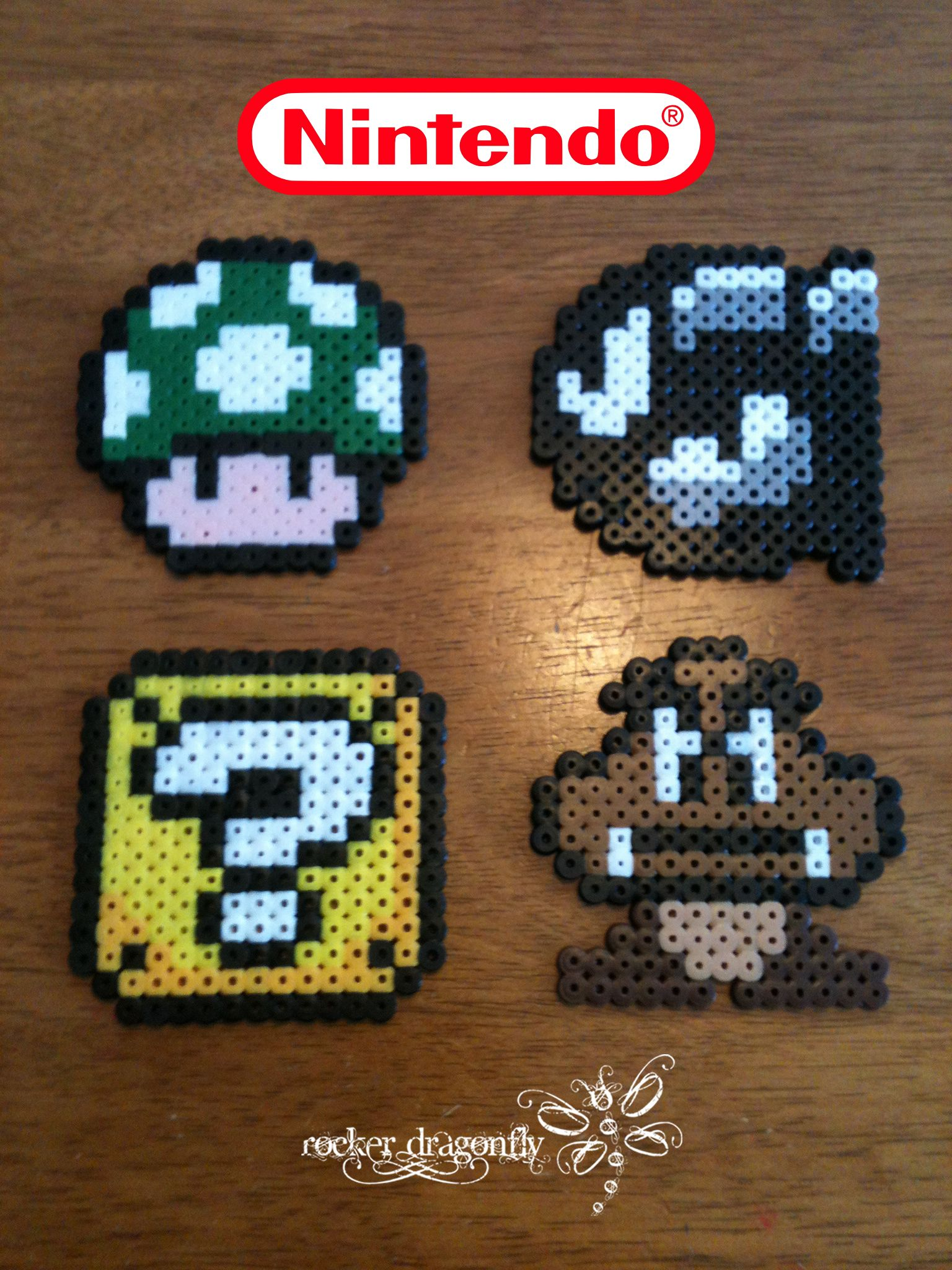 Various Super Mario Bros Characters In Perler Beads By Rockerdragonfly Melty Bead Patterns Super Mario Hama Beads Mario