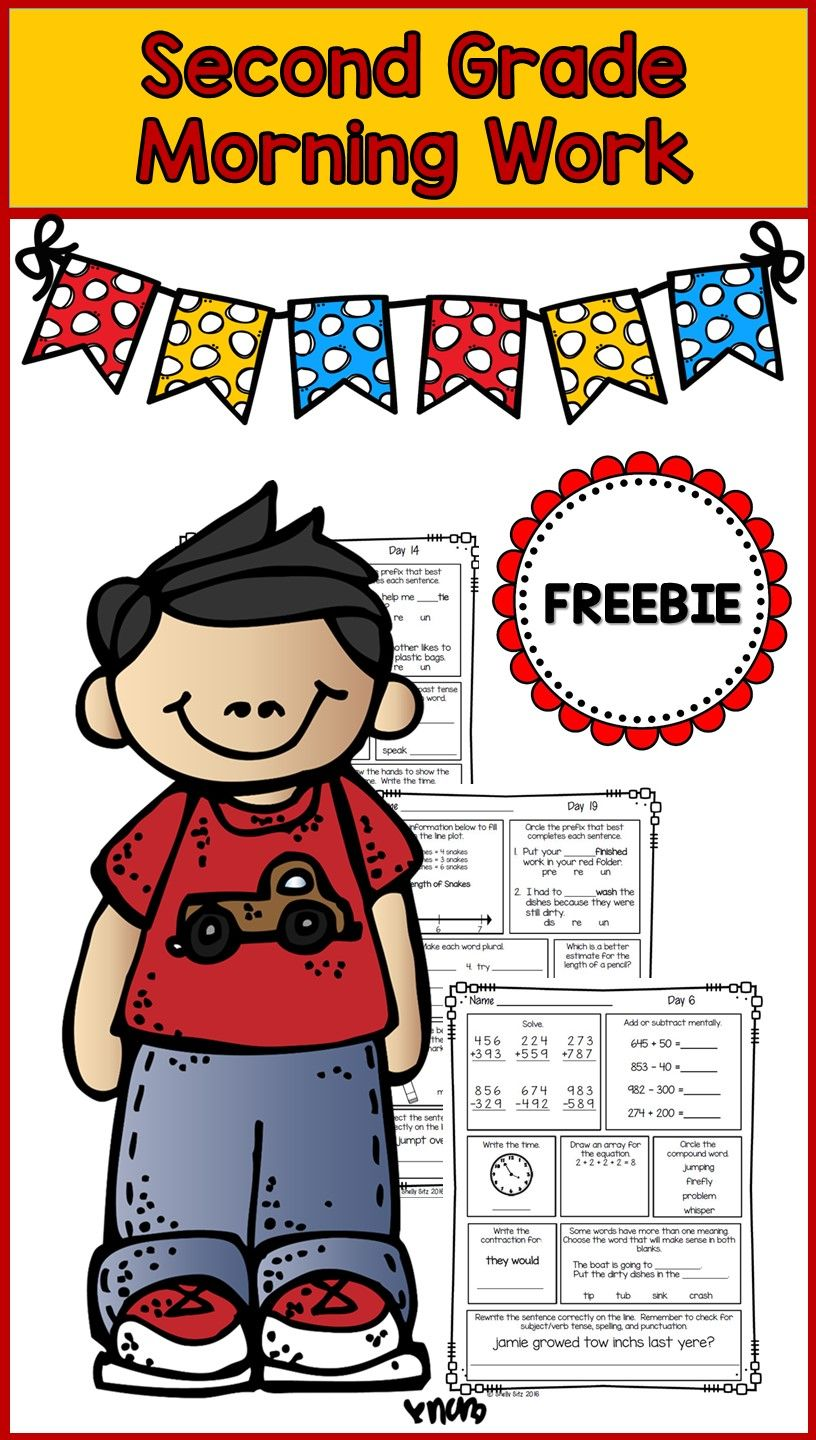 Uncategorized Morning Math Worksheets morning work for second grade freebie spiral review of math and free mental 3 digit addition